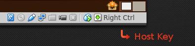 VirtualBox Host Key