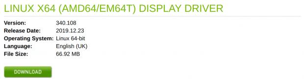 Nvidia Driver Version